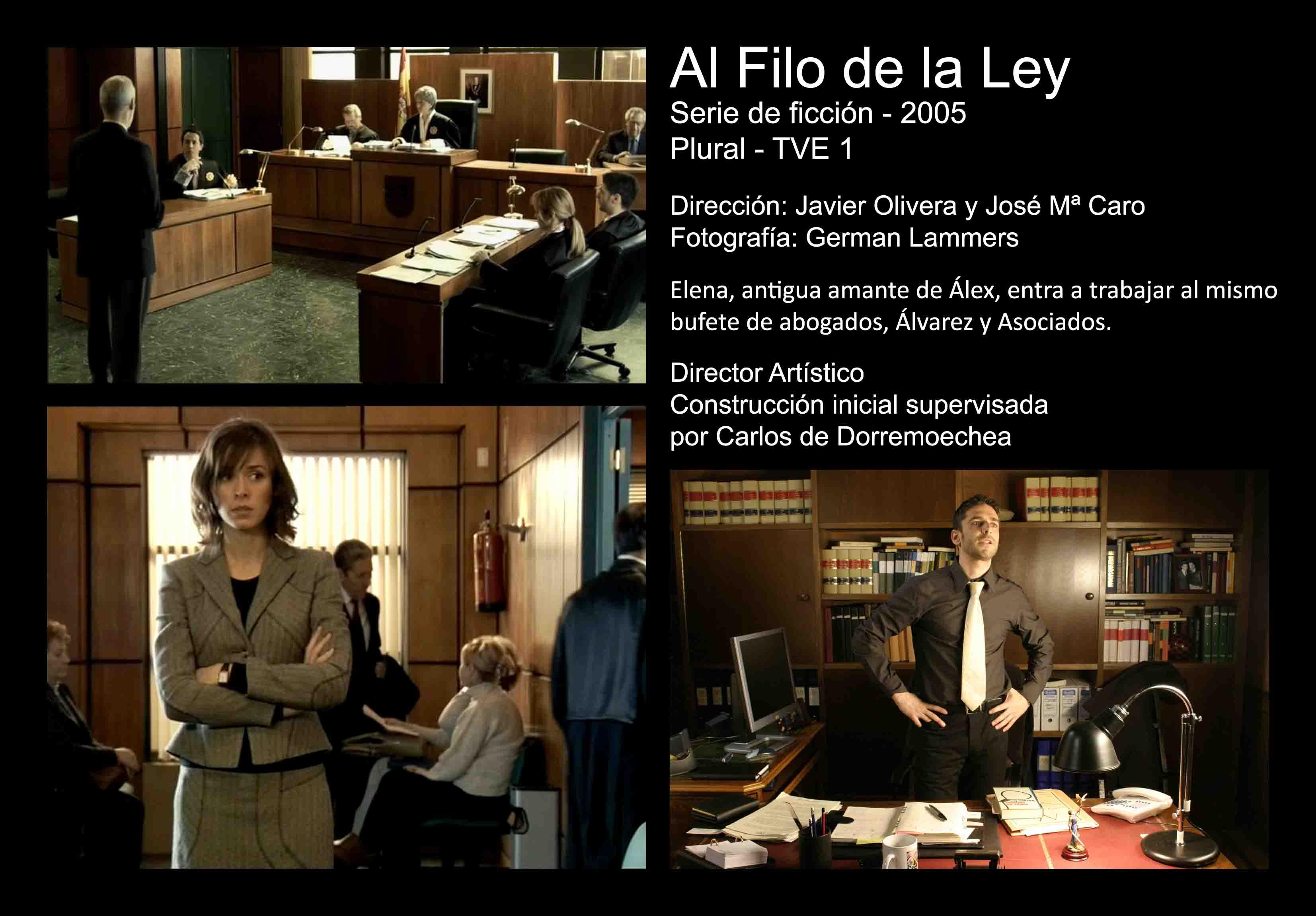 David Temprano 2005 Al Filo de la Ley 1