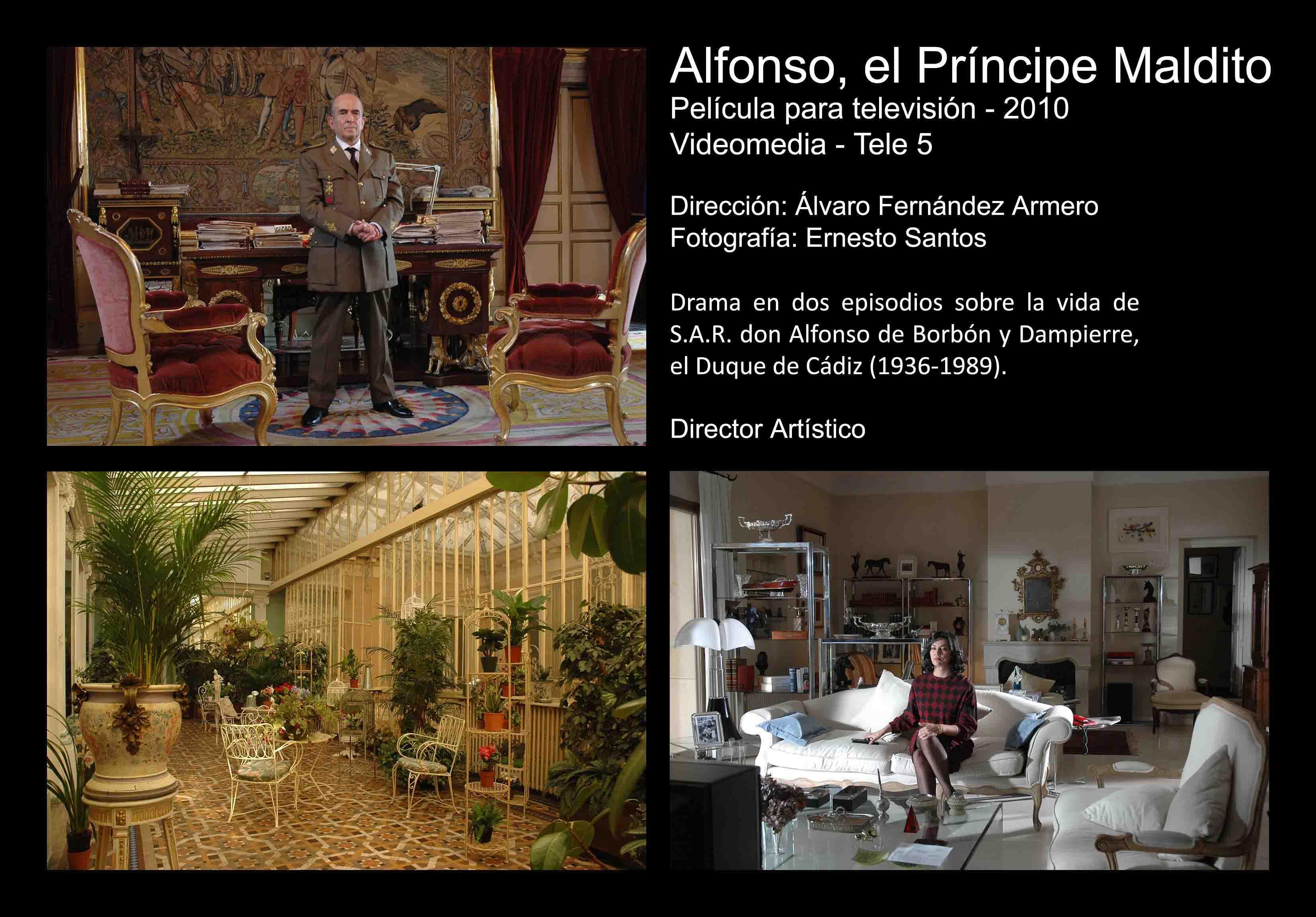 David Temprano 2010 Alfonso el Príncipe Maldito 1