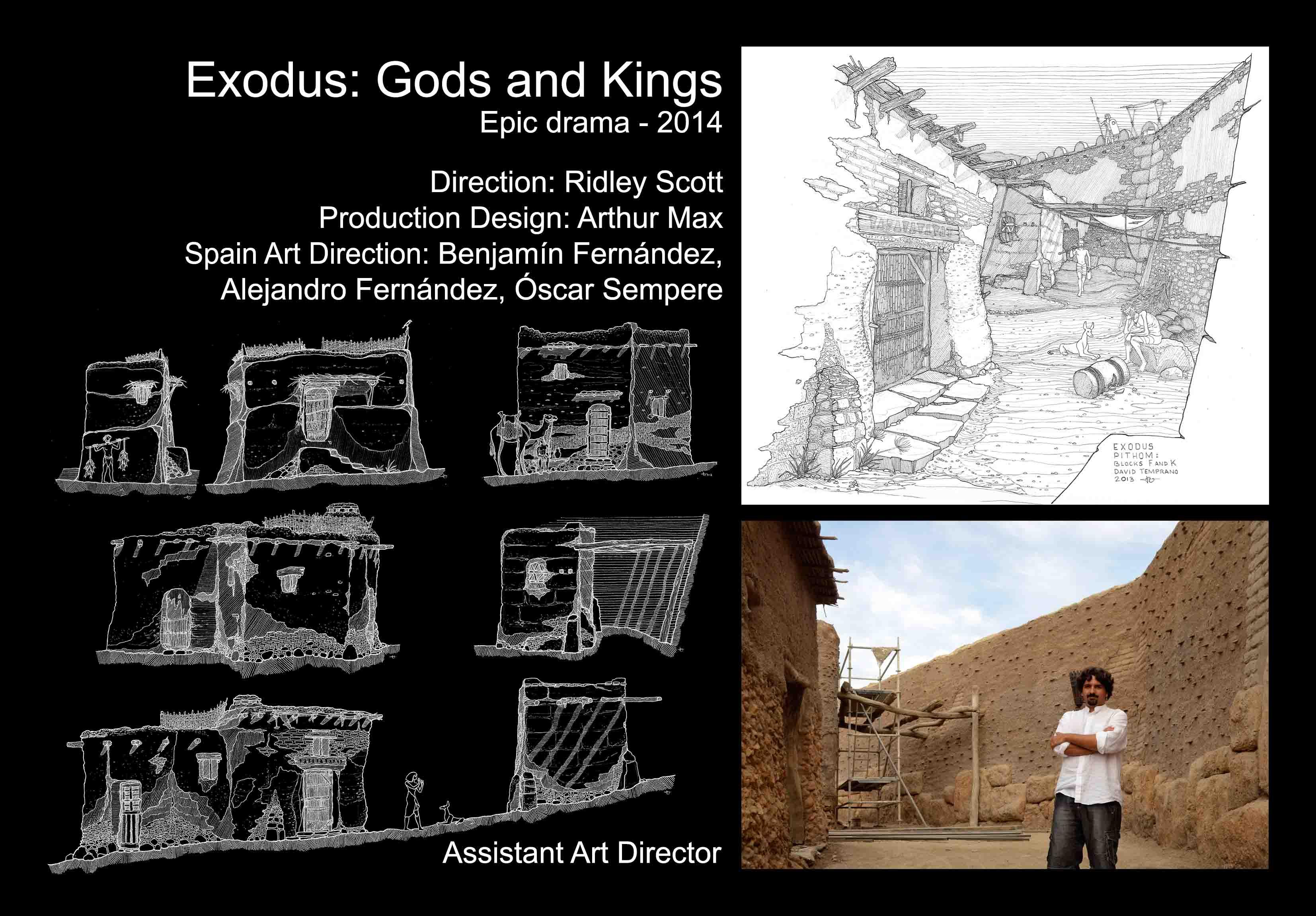 David Temprano 2014 Exodus Gods and Kings 1