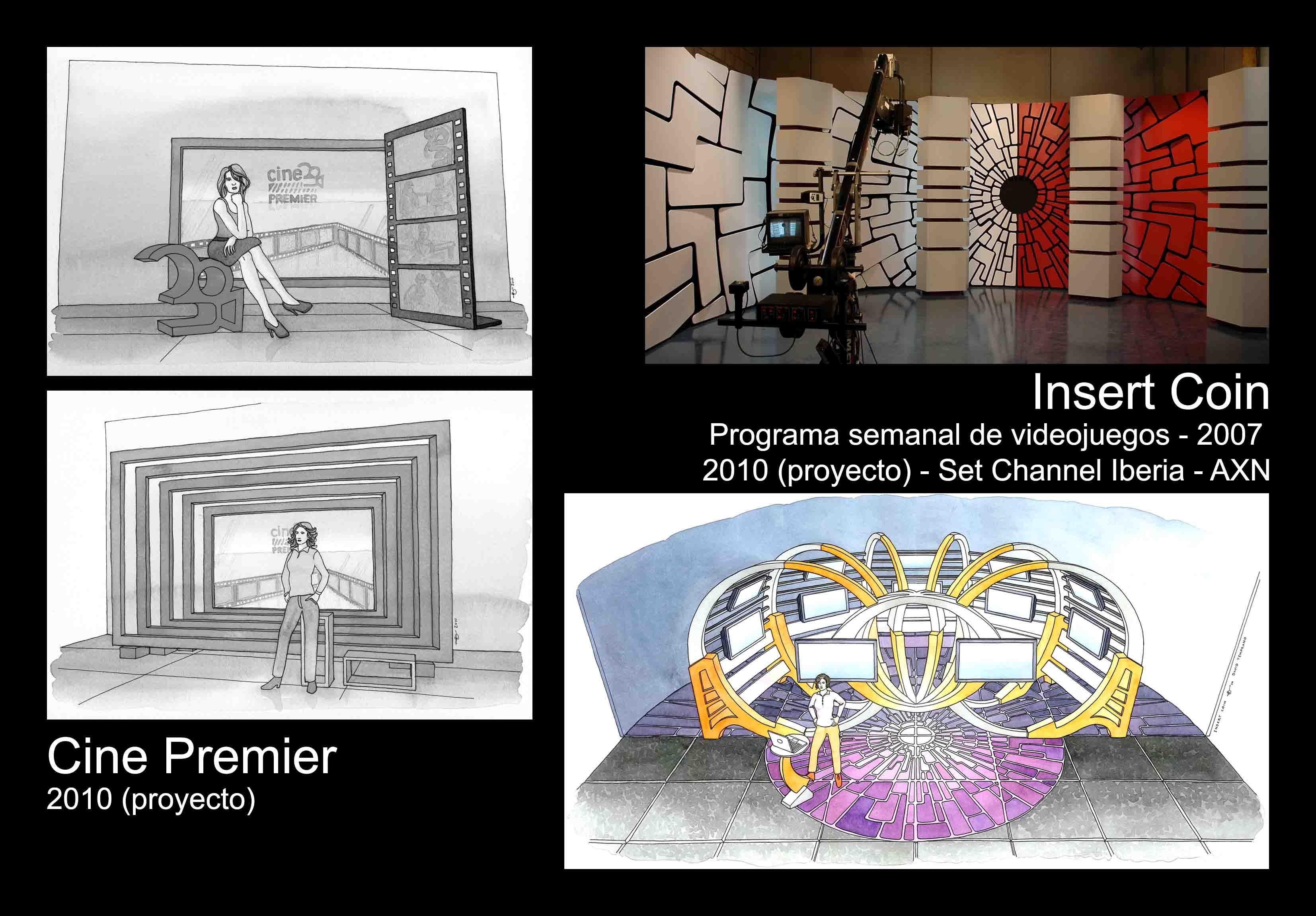 David Temprano b2007 y 2010 Insert Coin y Cine Premier 1