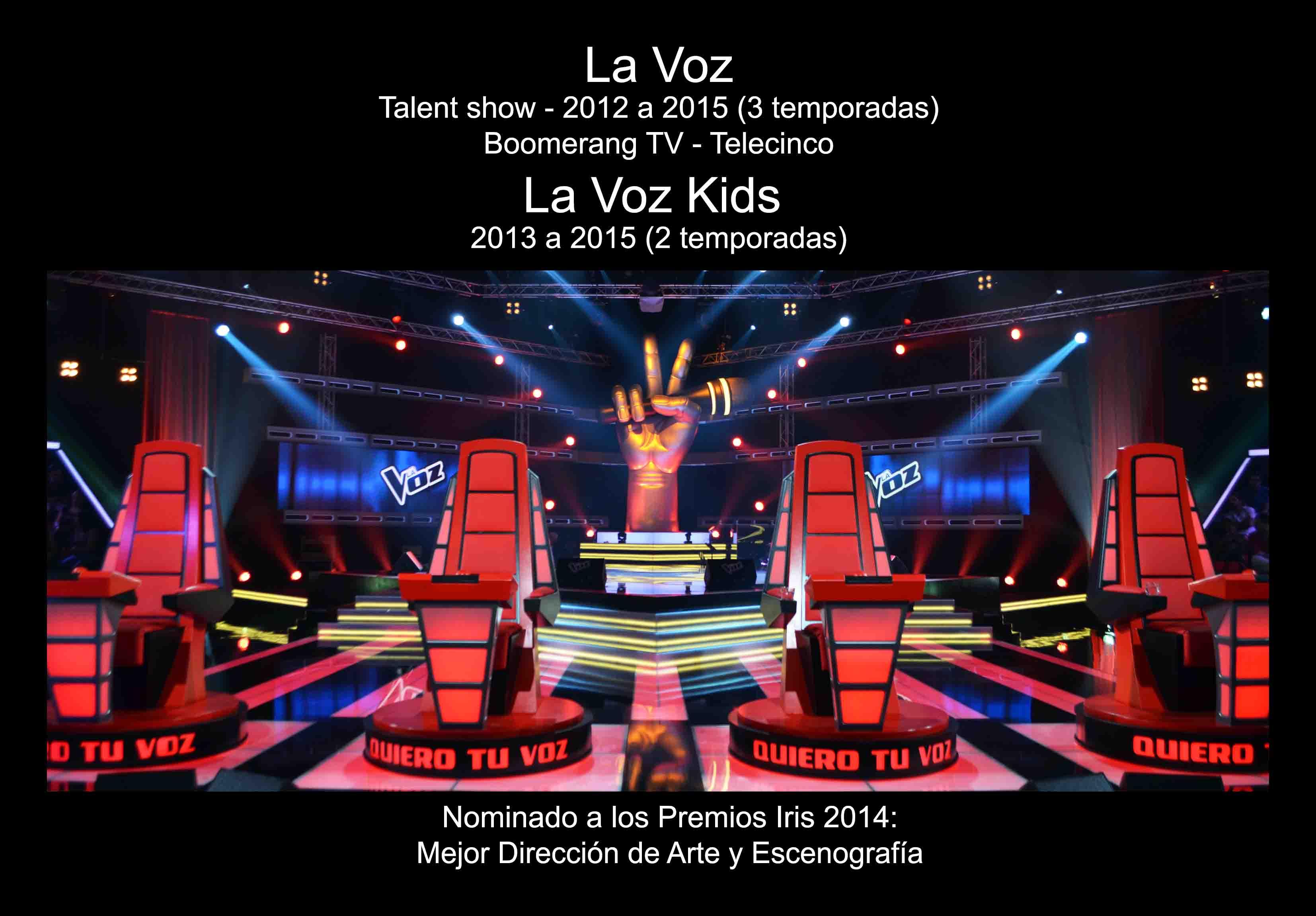 David Temprano b2012-2015 La Voz 1