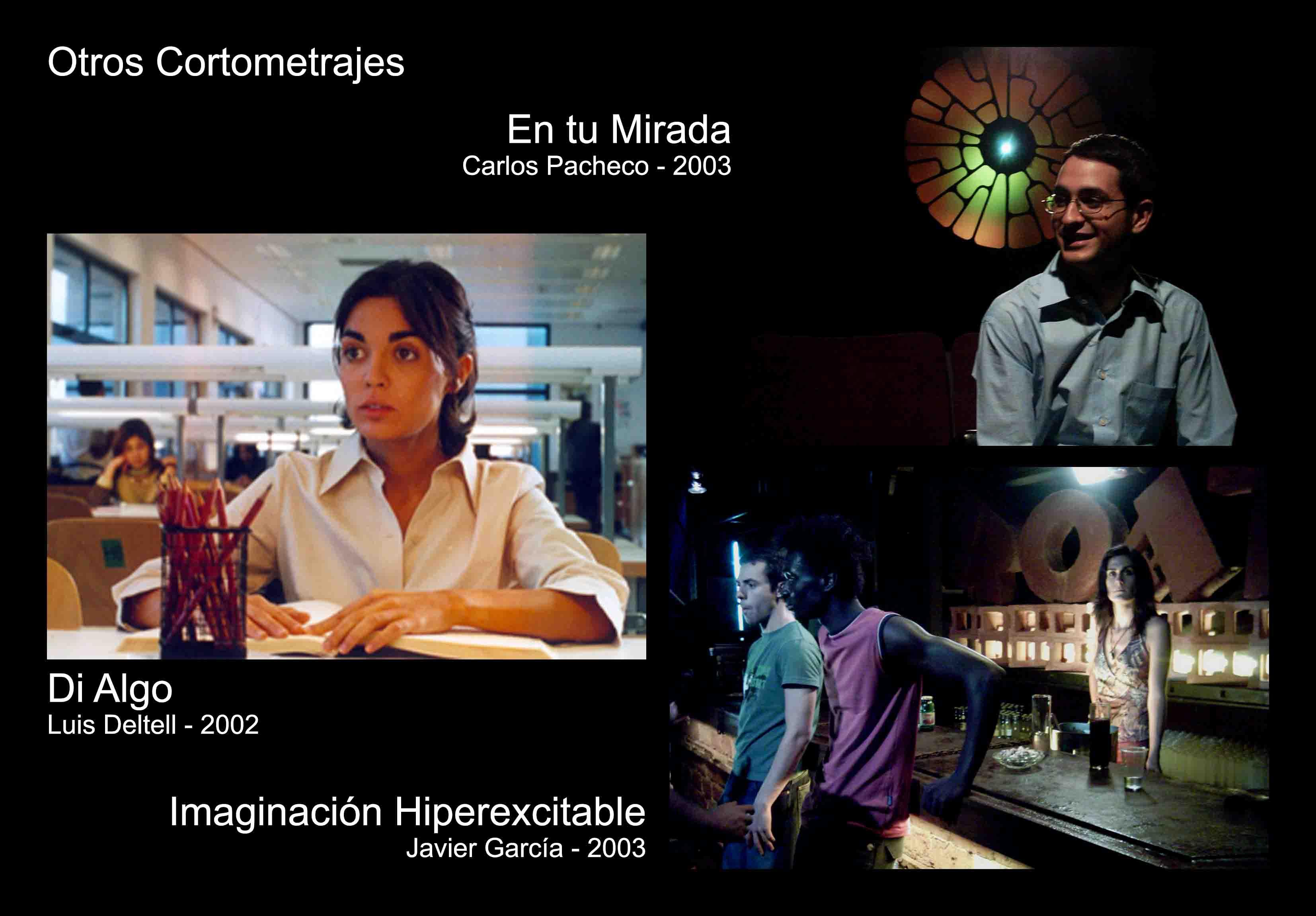 David Temprano c2002-2003 Di Algo, En tu Mirada, Imaginacion Hiperexcitable 1