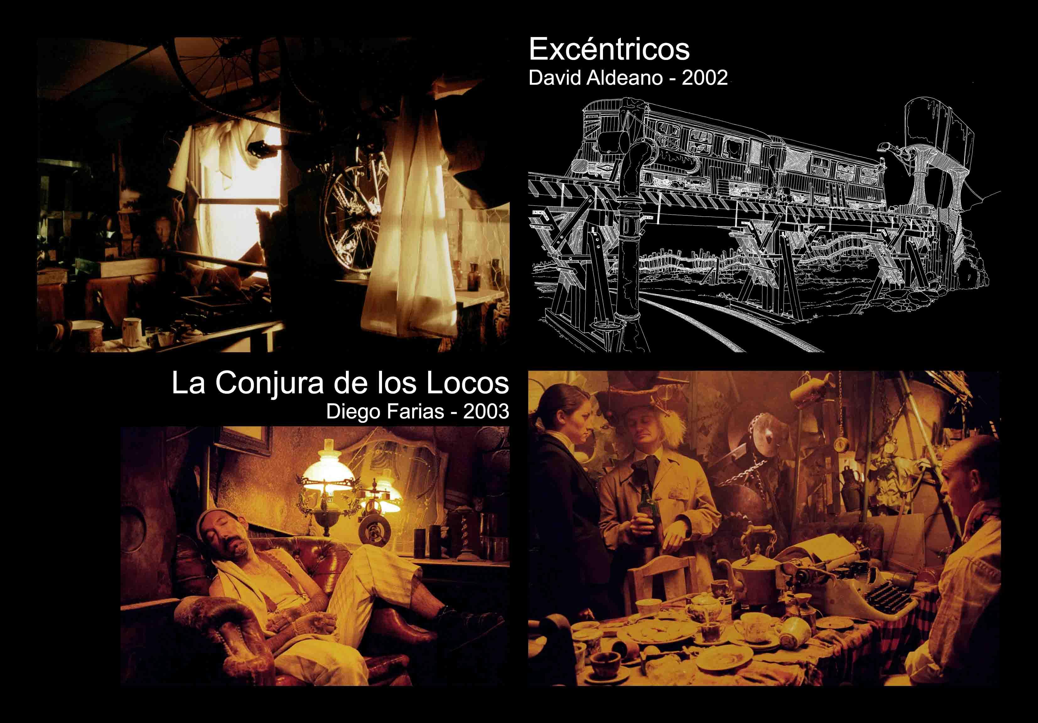 David Temprano c2002-2003 Excentricos, La Conjura de los Locos 1