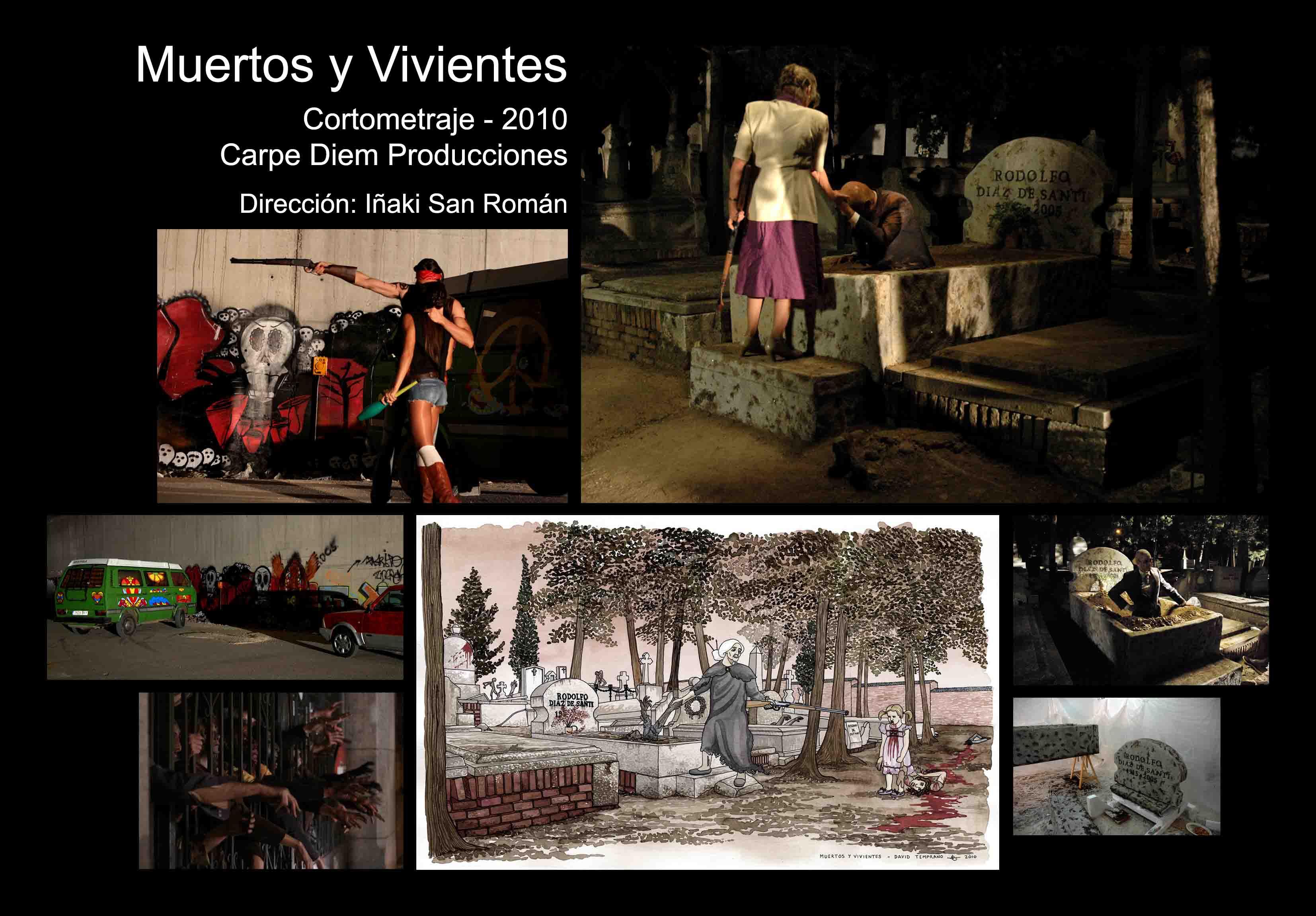 David Temprano c2010 Muertos y Vivientes 1